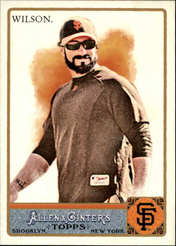 Photo of 2011 Topps Allen and Ginter #279 Brian Wilson