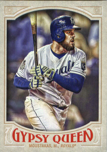 Photo of 2016 Topps Gypsy Queen #100 Mike Moustakas