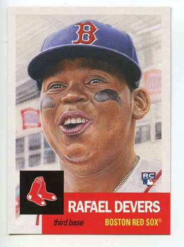 Photo of 2018 Topps Living #29 Rafael Devers/8403*