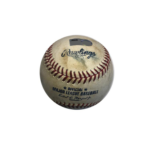 Photo of Game-used Baseball: 5/23/2015 Burnett vs. Plawecki - Top 5th, strikeout