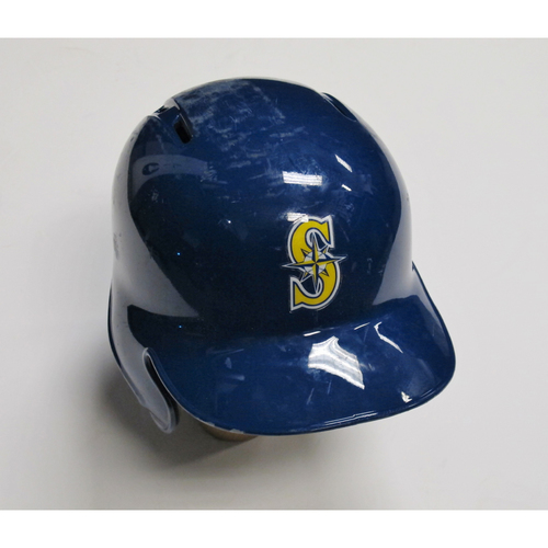 Photo of 2018 Team-Issued Blue Batting Helmet: Kyle Seager