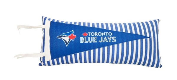 Toronto Blue Jays Pennant Pillow by Forever Collectibles