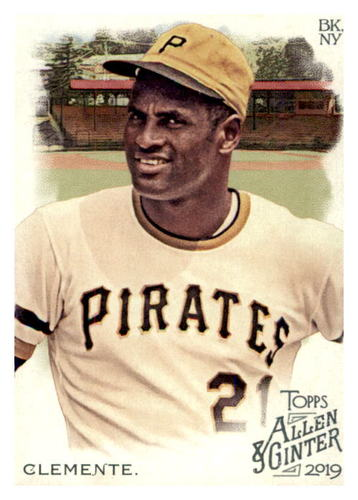 Photo of 2019 Topps Allen and Ginter #84 Roberto Clemente