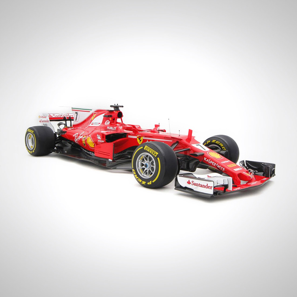 Kimi Raikkonen 2017 1:12 Scale Model F1 Car - Ferrari