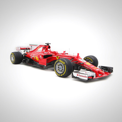 Photo of Kimi Raikkonen 2017 1:12 Scale Model F1 Car - Ferrari