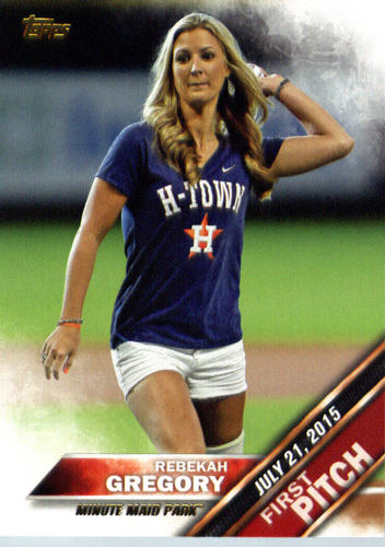 Photo of 2016 Topps First Pitch #FP18 Rebekah Gregory