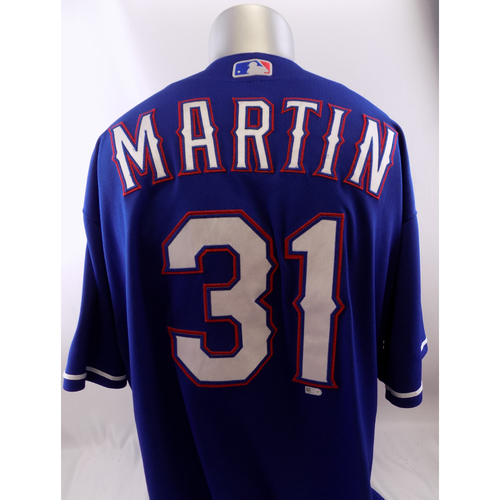 Photo of Game-Used Blue Jersey - Chris Martin - 6/22/18