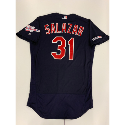 Photo of Danny Salazar 2019 Team Issued Alternate Road Jersey