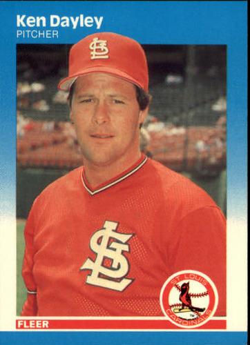 Photo of 1987 Fleer #293 Ken Dayley