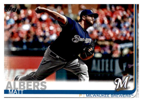 Photo of 2019 Topps Update #US32 Matt Albers