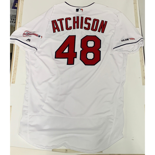 Photo of Scott Atchison Team Issued 2019 Home Jersey