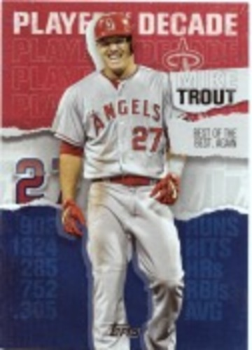 Photo of 2020 Topps Player of the Decade Mike Trout #MT17 Mike Trout