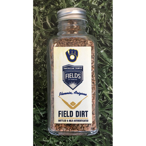 Photo of Game-Used Bottled Dirt - Spring Training at American Family Fields of Phoenix