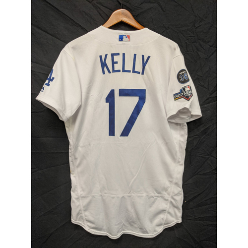 Photo of Joe Kelly Game-Used Home 2019 Postseason Jersey