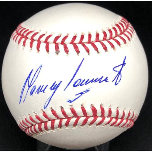 Photo of Manny Sarmiento -  Autographed Official Major League Baseball