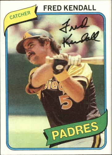 Photo of 1980 Topps #598 Fred Kendall DP