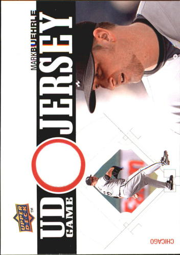 Photo of 2010 Upper Deck UD Game Jersey #MB Mark Buehrle