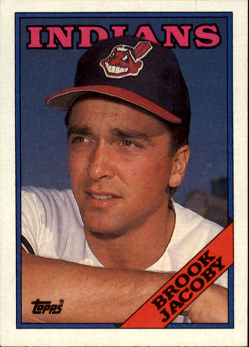 Photo of 1988 Topps #555 Brook Jacoby
