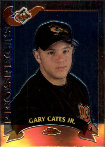 Photo of 2002 Topps Chrome Traded #T133 Gary Cates Jr. RC