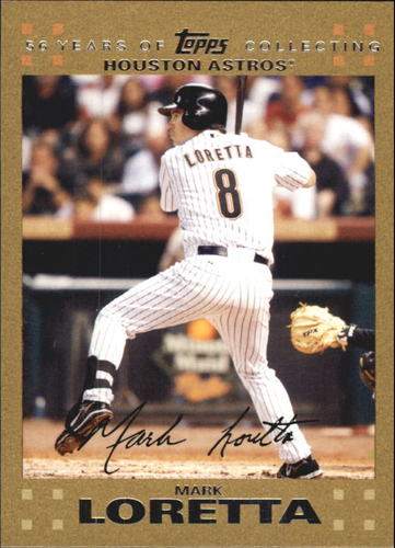 Photo of 2007 Topps Update Gold #10 Mark Loretta