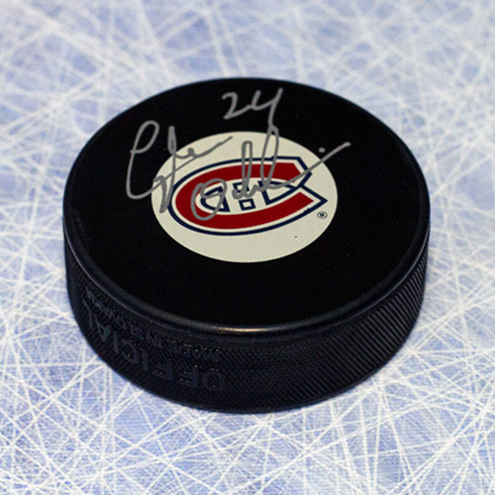 Lyle Odelein Montreal Canadiens Autographed Hockey Puck