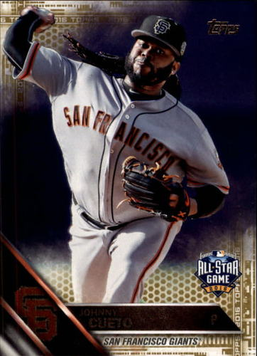 Photo of 2016 Topps Update Gold #US252 Johnny Cueto AS
