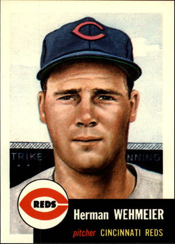Photo of 1991 Topps Archives 1953 #110 Herman Wehmeier