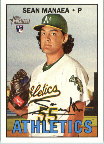 Photo of 2016 Topps Heritage #663 Sean Manaea Rookie Card