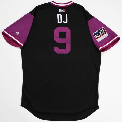 "Photo of DJ ""DJ"" LeMahieu Colorado Rockies Game-Used 2018 Players' Weekend Jersey"