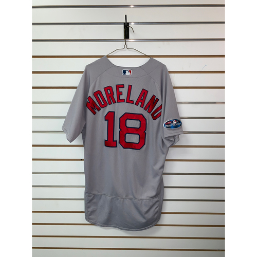 Mitch Moreland Game Used September 22, 2018 Road Jersey