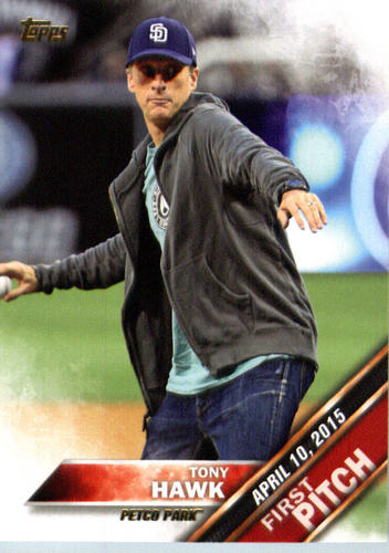 Photo of 2016 Topps First Pitch #FP19 Tony Hawk