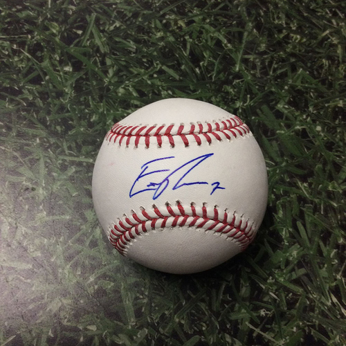 Photo of Eric Thames Autographed Baseball