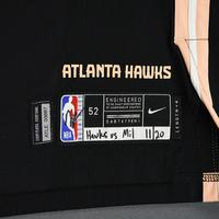 Vince Carter - Atlanta Hawks - Game-Worn 2nd Half City Edition Jersey - 2019-20 Season