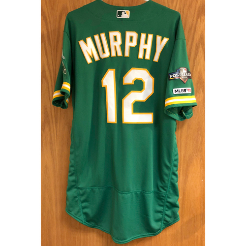 Photo of Team Issued Sean Murphy Jersey w/ 2019 Postseason Patch