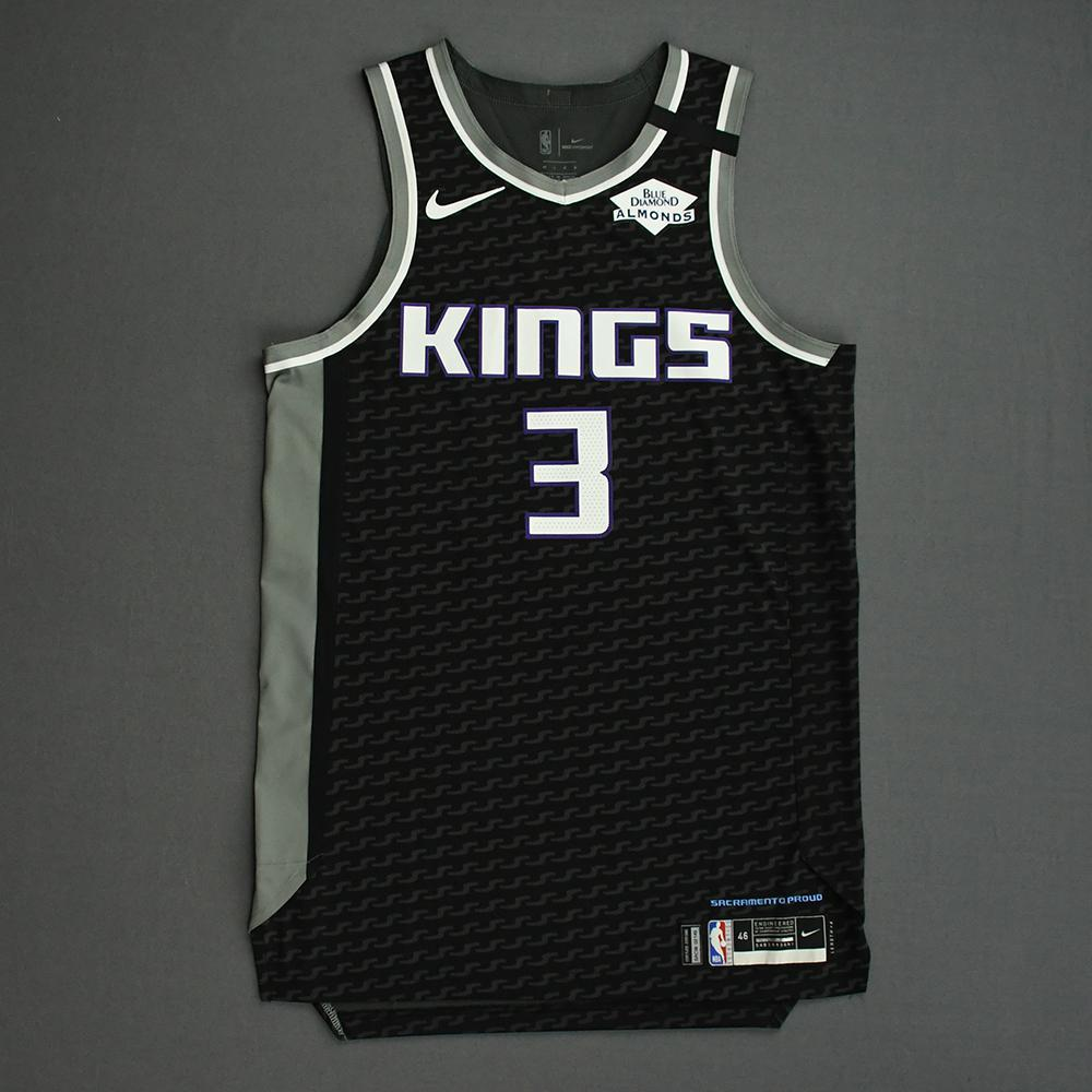 Yogi Ferrell - Sacramento Kings - Game-Worn Statement Edition Jersey - 2019-20 NBA Season Restart with Social Justice Message
