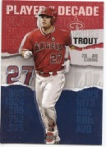 Photo of 2020 Topps Player of the Decade Mike Trout #MT20 Mike Trout