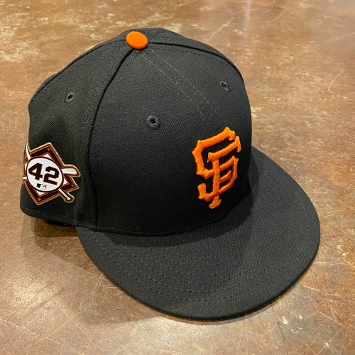 Photo of 2020 Jackie Robinson Day Cap - Team Issued - #53 Trevor Cahill - Size 7 1/2
