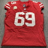 STS - 49ers Mike Mcglinchey Game Used Jersey (11/5/20) Size 48 w/ Captains Patch
