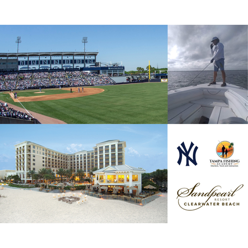 Photo of LOT #23: Gone Fishin' & Yankees Baseball in Tampa