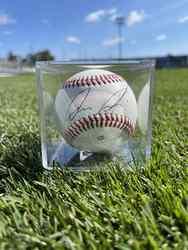 Photo of Luis Medina Signed Baseball