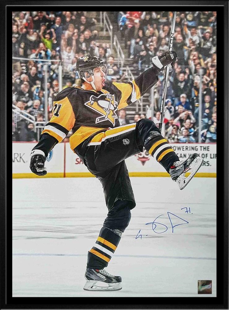 Evgeni Malkin - Signed & Framed 20x29