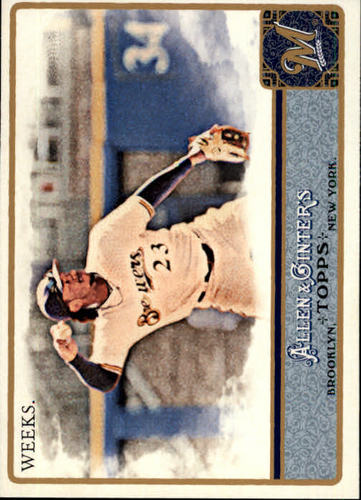 Photo of 2011 Topps Allen and Ginter #288 Rickie Weeks