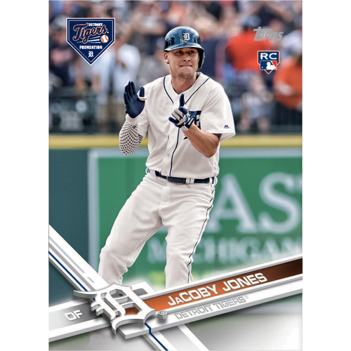 Autographs for a Cause: JaCoby Jones Autographed Limited Edition 2017 Topps Detroit Tigers Baseball Card