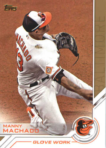 Photo of 2017 Topps Update Salute #USS6 Manny Machado