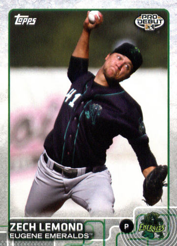 Photo of 2015 Topps Pro Debut #82 Zech Lemond