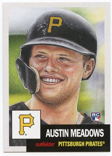 Photo of 2018 Topps Living #63 Austin Meadows/5639*
