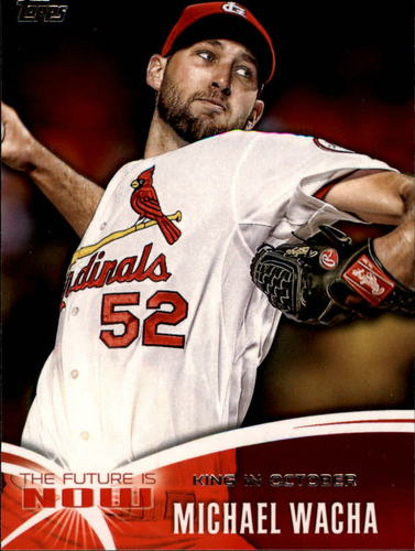Photo of 2014 Topps The Future is Now #FN32 Michael Wacha
