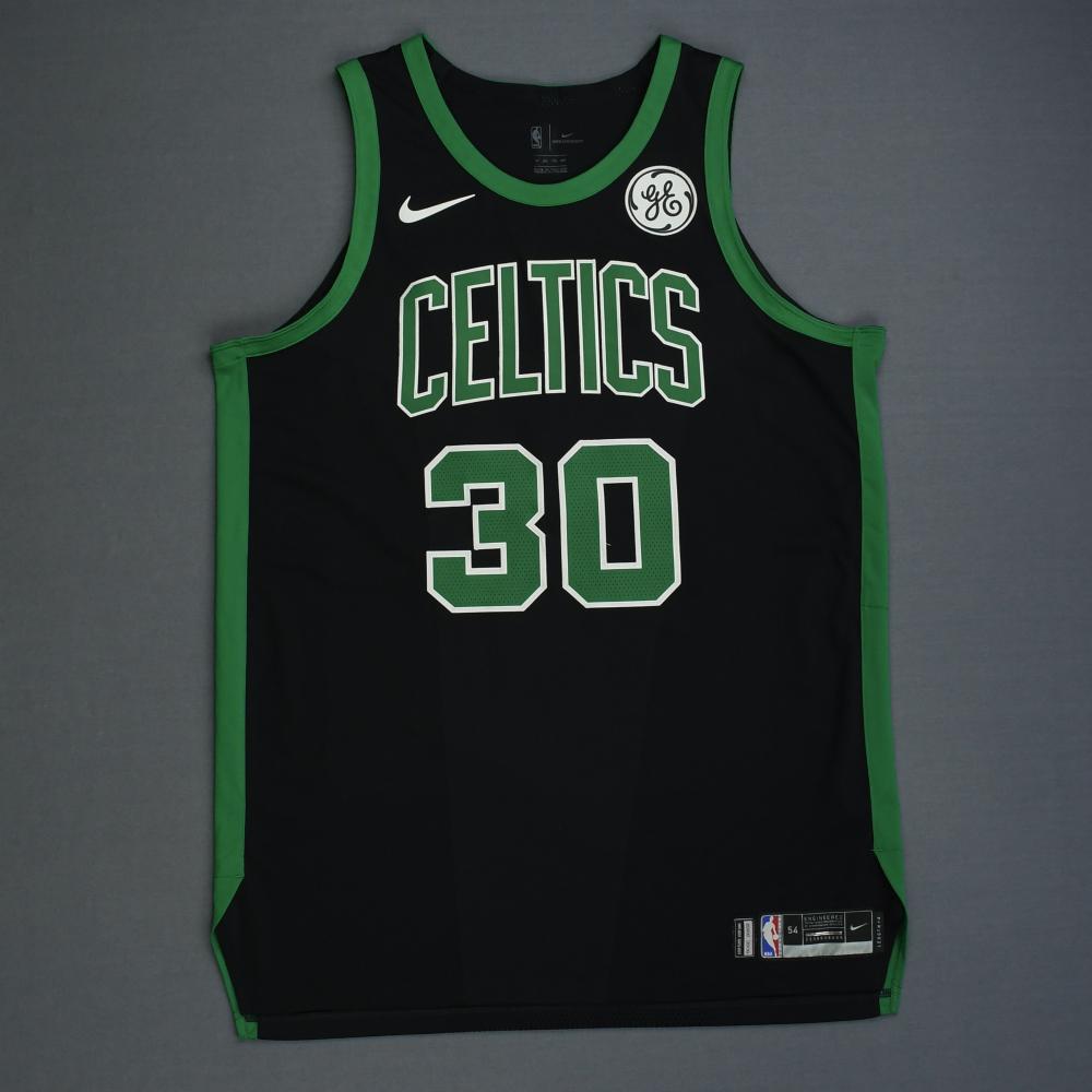 Guerschon Yabusele - Boston Celtics - 2019 NBA Playoffs - Game-Issued Black Statement Edition Jersey