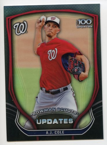 Photo of 2015 Bowman Chrome Bowman Scouts Update #BSUAC A.J. Cole