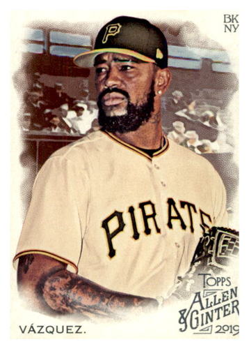 Photo of 2019 Topps Allen and Ginter #86 Felipe Vazquez